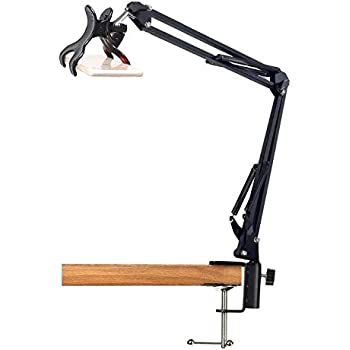 33'' Articulating Arm Phone Mount Stand for Baking Crafting Demo Videos/Live Streaming - Acetaken