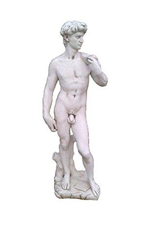 Antikes Wohndesign Adonis Männerfigur Steinfigur Griechische Statue David Figur Michelangelo