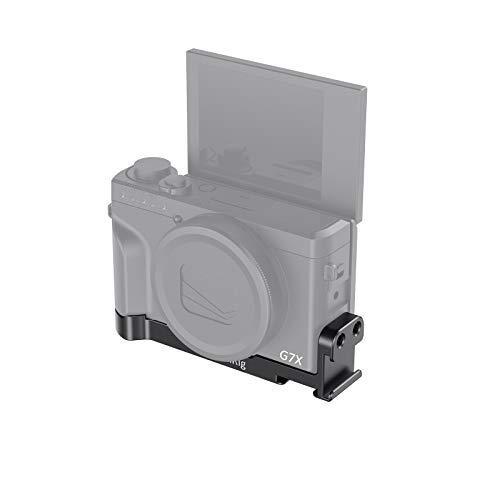 SMALLRIG Canon G7X MarkIII専用コールドシュー付きプレート PowerShot G7 X Mark III対応 BUC2433