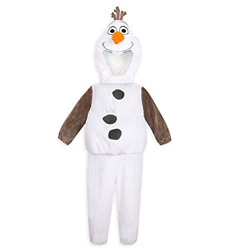 Disney Olaf Costume for Toddlers Girls – Frozen II- Size 2T Multi White
