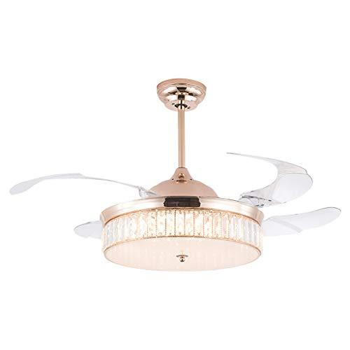 Haozai Huishoudelijke kroonluchter, nieuw, verlichting, kroonluchter, koper, kroonluchter, plafondventilator, licht, start, woonkamer, smeedijzer, 3 lampkoppen