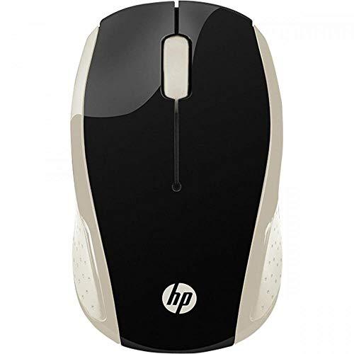 HP 200 Raton inalámbrica, Negro/Blanco