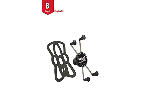 RAM Mounts X-Grip Universal Bracket for Large Smartphones with B Ball (1 Inch)