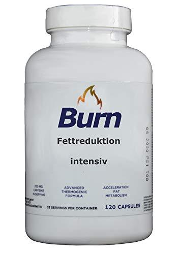 Fettstoffwechsel anregen, Abnehmen, 120 kapseln - 5 pflanzliche Extrakte, Fettspeicherung verhindern mit u.a. Cayenne Pfeffer, bitterer Orange, Garcinia, Piperin fettburner, fettverbrenner