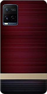 BuyFeb Back Cover Compatible for Vivo Y21 2021 (Silicon Soft Printed Mobile Case)-design2029