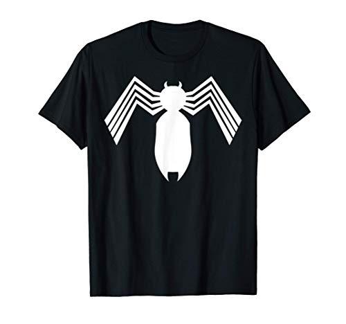 Marvel Spider-Man Arachnid All White Logo Camiseta