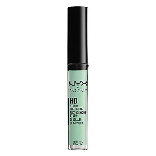 NYX Professional Makeup Correttore HD Photogenic, Per tutti i tipi di pelle, Copertura media, Tonalità: Green