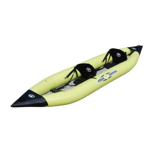 Typhoon Aquamarine - Kayak Gonfiabile per 2 Persone, Colore: Giallo