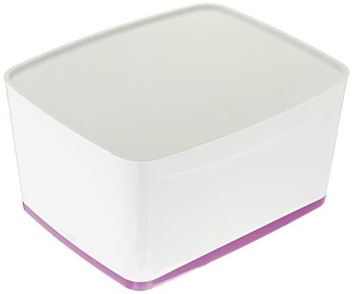 Leitz 52164062 MyBox WOW Grande boîte de rangement avec couvercle Violet