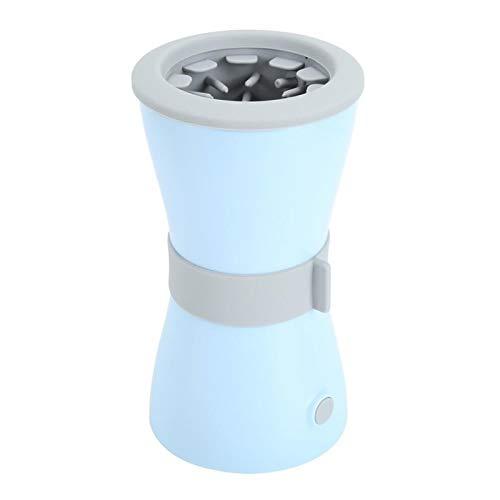 Limpiador portátil Patas Perro Silicona azul automático de carga USB PET eléctrico de limpieza de pata de limpieza de la taza de la taza de la taza de la taza para los perros gatos Herramientas de l