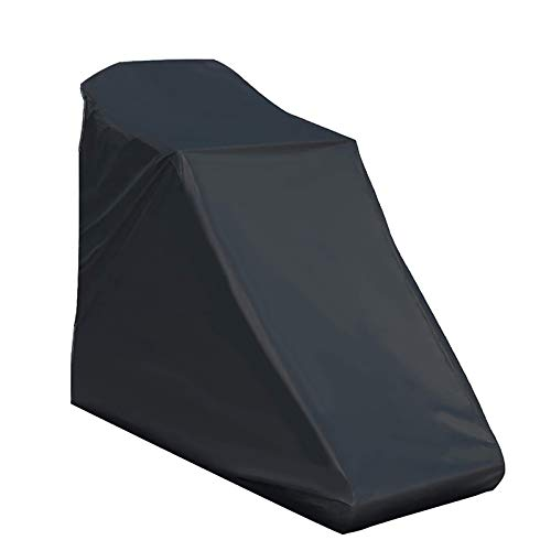 Onlyme Treadmill Cover for Non-Folding Home Running Machines with Drawstring, Black (78 x 37 x 62 inch)