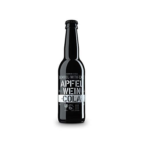 BEMBEL-WITH-CARE Apfelwein-Cola 12 x 330ml Einweg Longneck-Flasche aus Schwarzglas