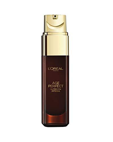 L'Oréal Paris - Age Perfect Nutrición Intensa, Sérum Reparador Extraordinario para Pieles Maduras y Secas - 30 ml