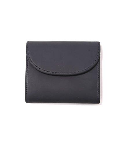 SETTLER(セトラー) SMALL 3FOLD - blk (三つ折り ウォレット 財布) フリーサイズ ブラック