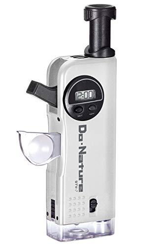 Kenko 冒険キット Do・Nature 顕微鏡30倍 LEDライト内蔵 コンパクト携帯型 マンガン乾電池仕様 STV-7