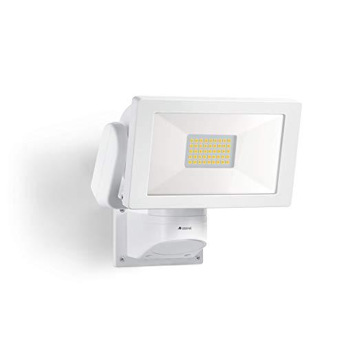 Steinel Foco LED LS 300 M, blanco, foco de 30,6 W, 3120 lúmenes, orientable, LED blanco neutro (4000 K), IP44.