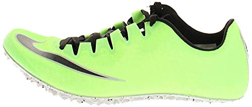 Nike Zoom Superfly Elite, Scarpe Running Unisex-Adulto, Electric Green/Black/Metallic Silver, 47 EU
