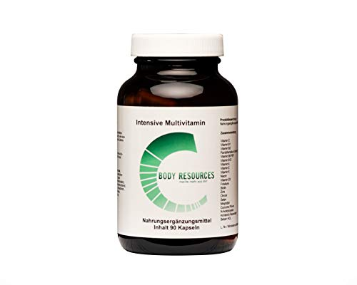 2250mg Super Multivitamin Kombination mit extrem hochdosiertem Vitamin-B Komplex, Curcuma, Zink und weiteren Superfoods