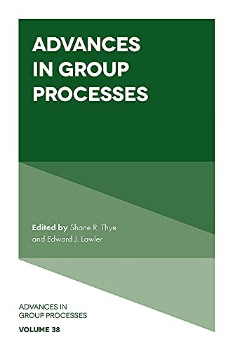 Advances in Group Processes (English Edition)