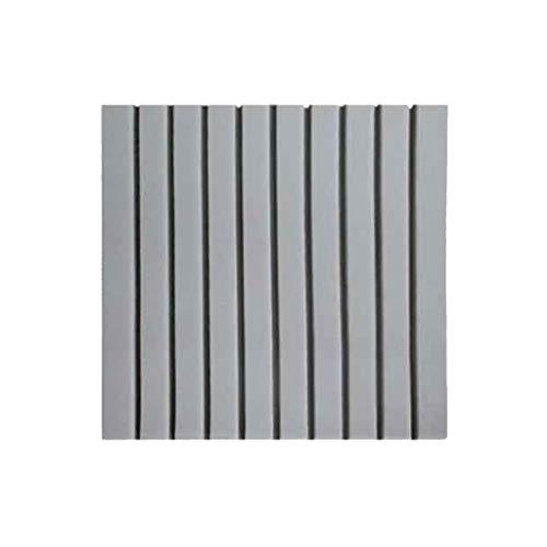 KANGjz Schalldämpfer 30PCS Panels Schallabsorbierende, Musikzimmer Tanzraumakustik Panels feuchtigkeitsfest Brandschutz schallabsorbierende Baumwolle Schalldämmbaumwolle ( Color : Gray )