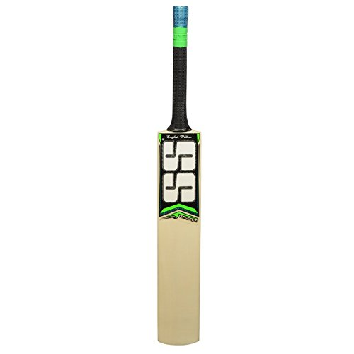 SS Size 4,5,6 English Willow Leather Ball Cricket Bat, Exclusive Cricket Bat for Junior with Full Protection Cover (4, Magnum)