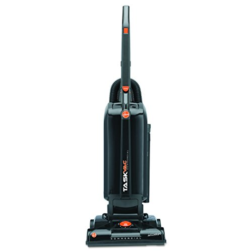 Hoover Commercial CH53005 TaskVac Hard-Bagged Lightweight Upright Vacuum, 13-Inch, Black