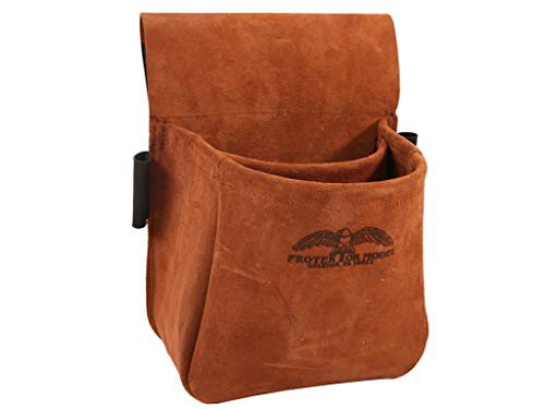 Protektor Model Trap/Skeet Shooters Bag Suede Leather, Multicolor (#23B)