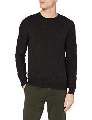 BOSS Amiox Suéter, Negro1, XL para Hombre
