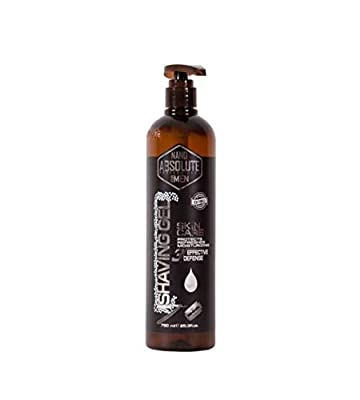 Nano Absolute Professional Shaving Gel for Men Skin Care 3' Effective Defense 750ML