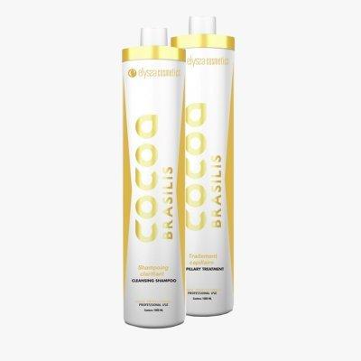 Kit de lissage brésilien professionnel COCOA BRASILIS 2x1LITRE