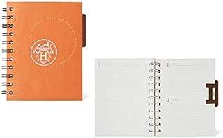 HERMES エルメス ノートレフィル 《ユリス》 PM 永久カレンダー 手帳 H15.0×W 12.0cm