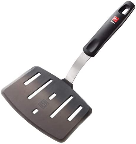 All New DI ORO Designer Series Wide Slotted Turner Spatula Features 600F Heat Resistant No Melt product image