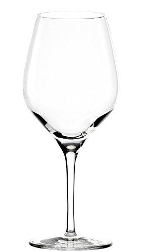 Stölzle Lausitz Exquisit Rotweinkelche, 480ml, 6er Set Weinglas, spülmaschinenfeste Universal Rotwein Gläser für Vielzahl an Rebsorten, hochwertige Qualität