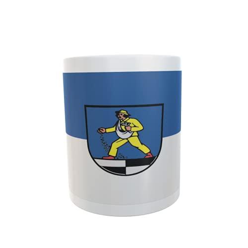 U24 Tasse Kaffeebecher Mug Cup Flagge Blaufelden