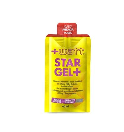 Watt Star Gel+ Arancia Rossa