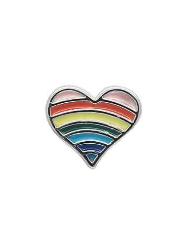 Lily Lockett Rainbow Heart Kids Charms Girls Children Jewellery