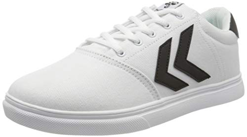 Hummel Unisex-Erwachsene Essen Sneaker Niedrig, Weiß (White 9001), 37 EU