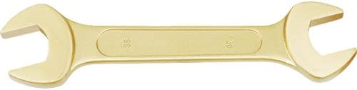 Bahco NS006-2830 BHNS006-2830 Double Open Ended Wrench 28X30mm Gold