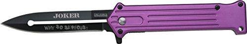 Tac-Force Taschenmesser Joker Violett/Schwarz, TF-457PU