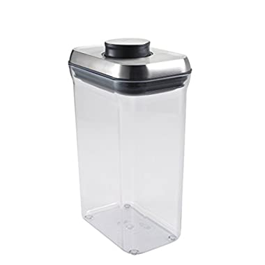 OXO SteeL POP Container – Airtight Food Storage – 2.5 Qt for Rice and More
