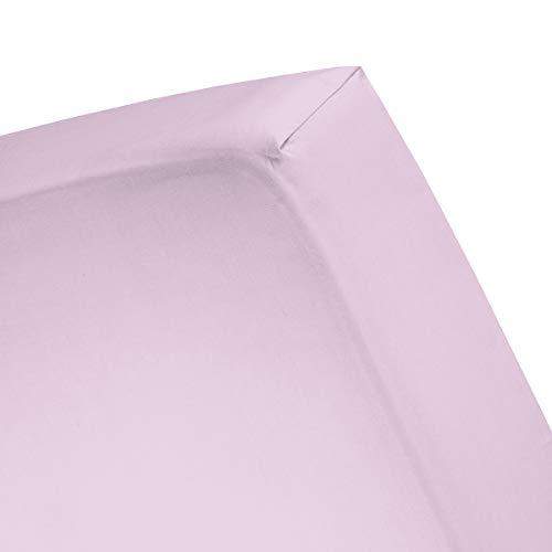 Damai hoeslaken Double Jersey Lits-jumeaux XL lila (tot 25 cm)