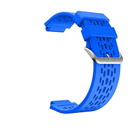 XUEMEI Correa De Reloj De Silicona para El Enfoque De Garmin S4 / S2 Sport Silicone Smart Muñequeras para El Enfoque Garmin S4 / S2 Correa De Reemplazo (Color : 04)