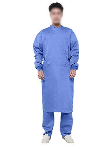 Feynman OP Kittel Uniform Chirurgen Kittel Anzug Mantel Langarme Arbeitskleidung Overall