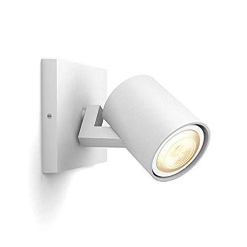 Philips Hue LED Spot Runner Erweiterung, dimmbar, alle Weißschattierungen, steuerbar via App, weiß, kompatibel mit Amazon Alexa (Echo, Echo Dot)