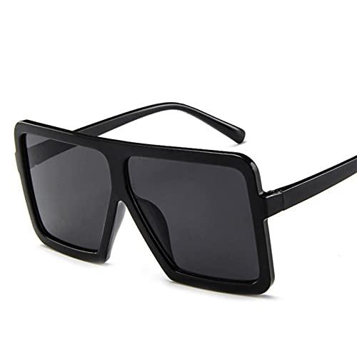 FDNFG Gafas de Sol Hombres y Mujeres Gafas de Sol Personalidad Gafas de Sol Unisex Moda Personalidad Gafas de Sol Gafas de Sol (Color : Multi)