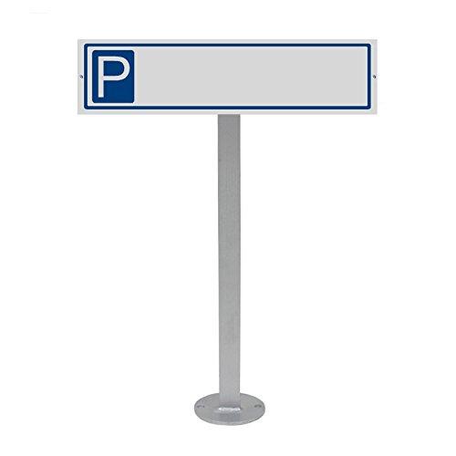 Parkplatzschild mit Standpfosten und Schildhalterung Plus Parkplatzschild Neutral Nr.35450
