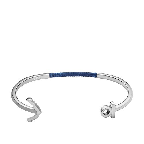 Fossil Herren-Manschetten Armbänder Edelstahl JF02880040