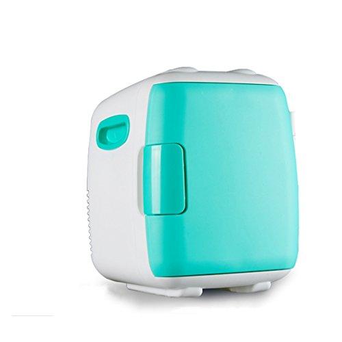 JCOCO Silent Mini frigo Cooler et Warmer, voiture et usage domestique (Couleur : Green, taille : 4L)