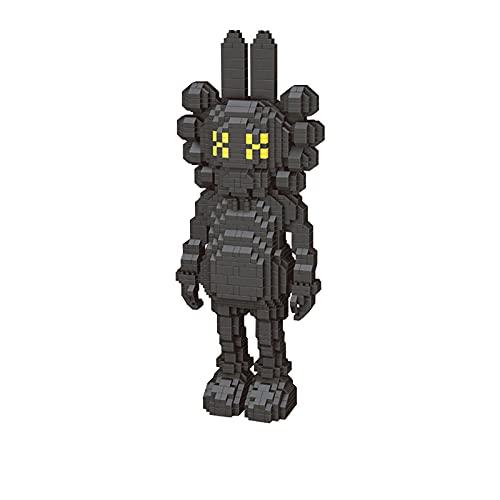 Anoauit Nano DIRUTOMONES Bloques DE CONSTRUCCIÓN Mini Ladrillos Hong Kong KA-WS Modelo DIY PEQUEÑO PEQUEÑO DIAMIENTO Micro Micro Bloque DE Juego para NIÑOS,Negro