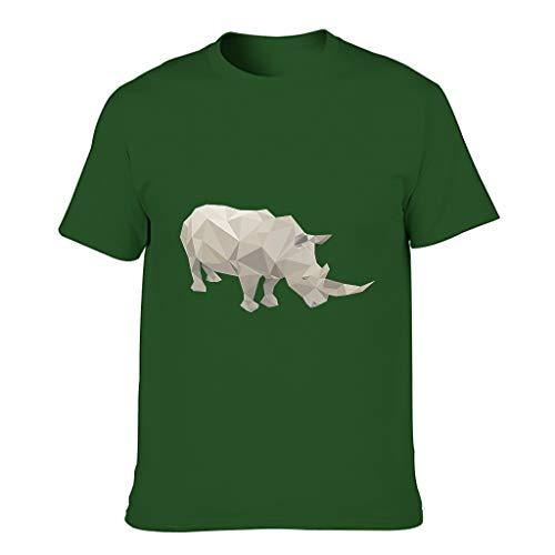 Camisetas de algodón para hombre - Personalizables Dark Green001. XL